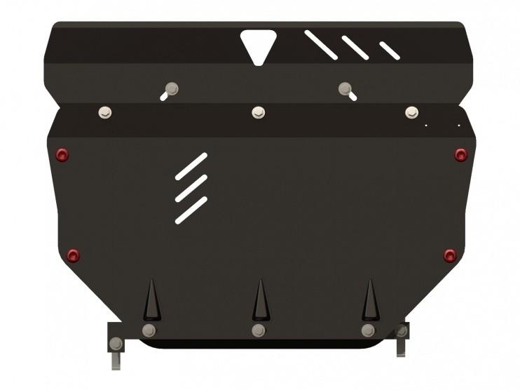 Защита картера и КПП сталь 2 мм Шериф 11.1171 KIA Cerato (Forte)  2004–2009