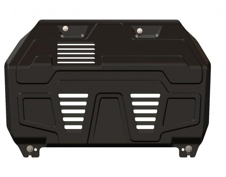 Защита картера и КПП сталь 1,8 мм Шериф 11.1590 KIA Sportage 2004–2010