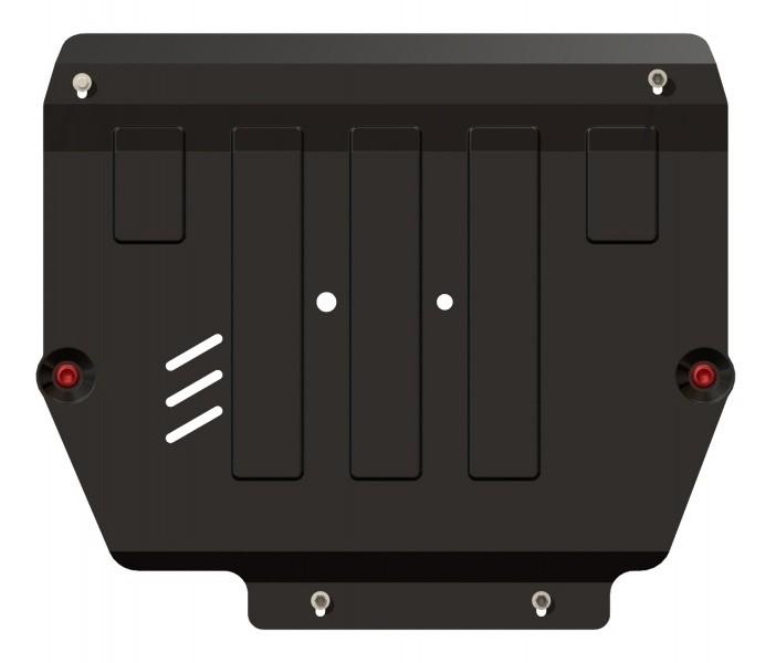 Защита картера и КПП сталь 2 мм Шериф 11.2025 KIA Sorento 2011–2012