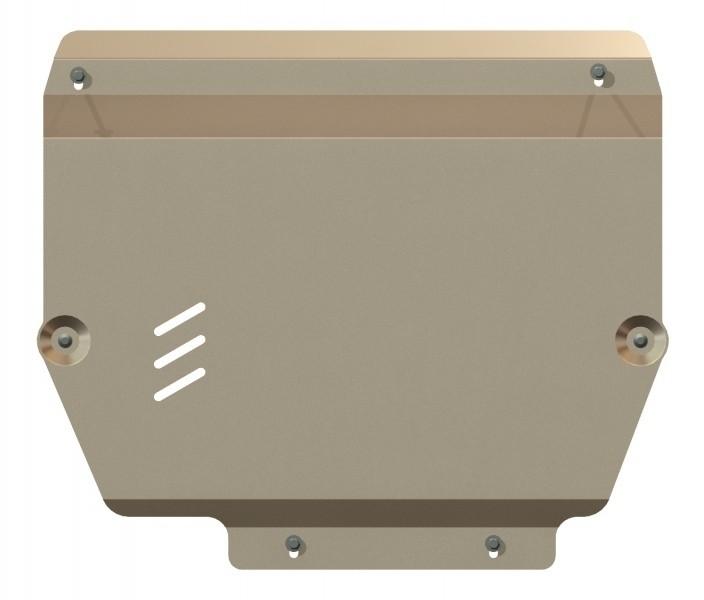 Защита картера и КПП алюминий 5 мм Шериф 11.2187 KIA Sorento 2011–2012