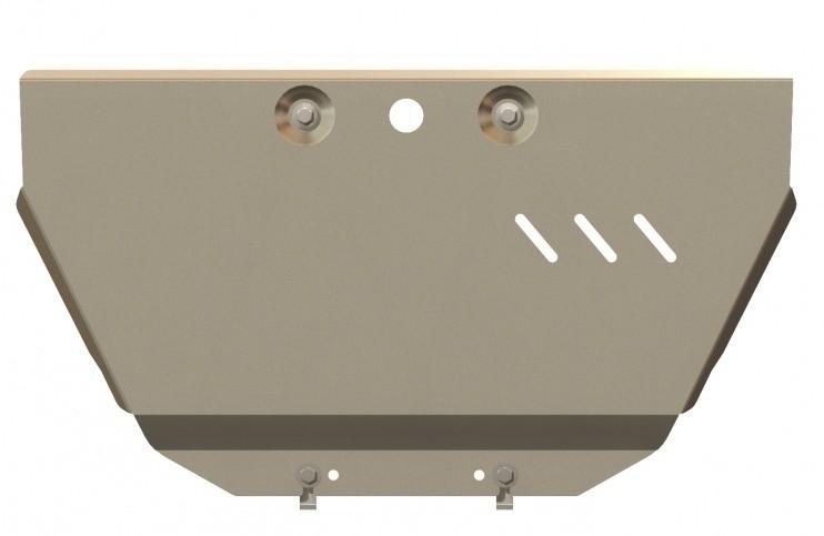 Защита картера алюминий 5 мм Шериф 11.2231 KIA Quoris 2013–