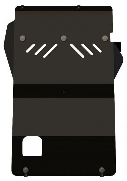 Защита картера сталь 2,5 мм Шериф 12.1165 Mazda BT-50 2006–