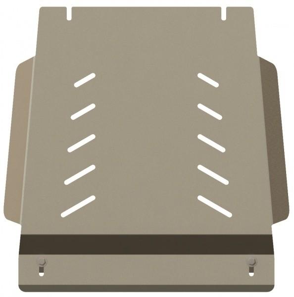 Защита КПП и РК алюминий 5 мм Шериф 12.1168 Mazda BT-50 2006–