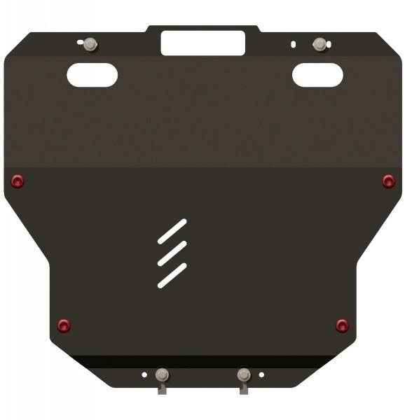 Защита картера и КПП сталь 2 мм Шериф 12.1296 Mazda 6 2007–2012