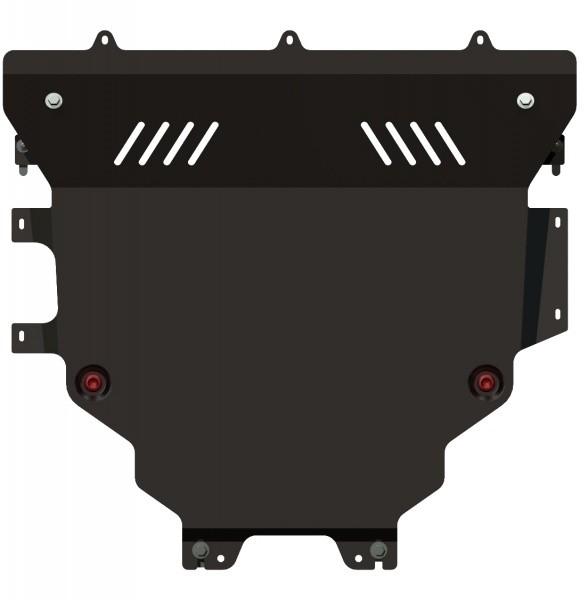 Защита картера и КПП сталь 2 мм Шериф 12.1665 Mazda 3 2009–2013