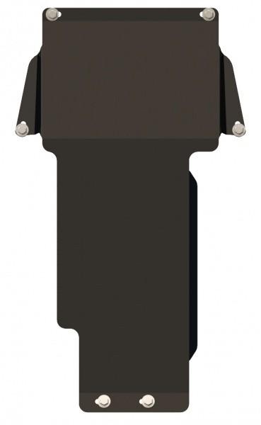 Защита АКПП сталь 2 мм Шериф 13.0418 Mercedes-Benz CLK – для 0417 2000–2003