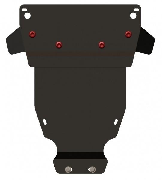 Защита МКПП сталь 2 мм Шериф 13.0497 Mercedes-Benz C-Klasse – для 0247 2000–2007