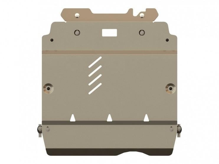Защита картера и КПП алюминий 5 мм Шериф 13.1175 Mercedes-Benz A-Klasse 2004–2012