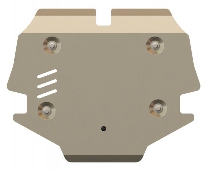Защита картера и КПП алюминий 5 мм Шериф 13.2336 Mercedes-Benz GLK 2008–2012