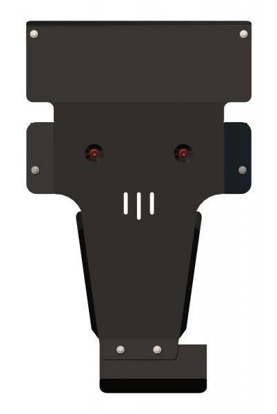 Защита картера и КПП сталь 2,5 мм Шериф 13.2337 Mercedes-Benz Viano 4WD 2012–