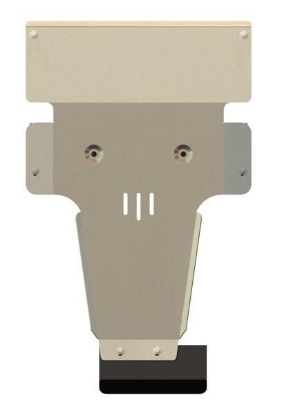 Защита картера и КПП алюминий 5 мм Шериф 13.2338 Mercedes-Benz Viano 4WD 2012–