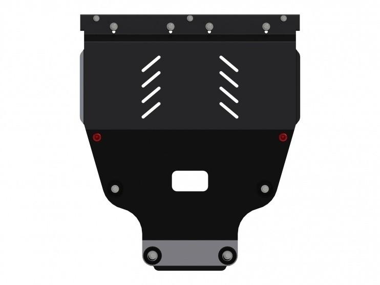 Защита картера и КПП сталь 2 мм Шериф 13.2441 Mercedes-Benz A-Klasse 2012–