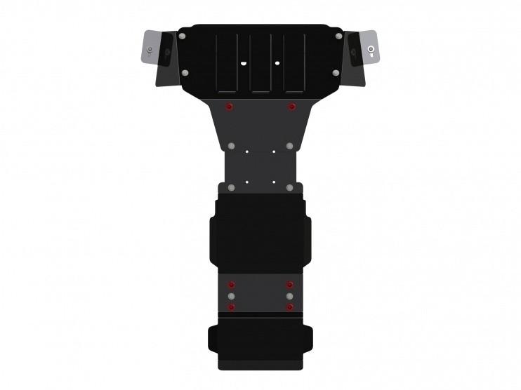 Защита картера и КПП сталь 3 мм Шериф 13.2770 Mercedes-Benz Sprinter 2013–