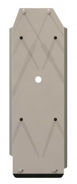Защита топливного бака алюминий 5 мм Шериф 14.1148 Mitsubishi L200 (Triton) 2007–