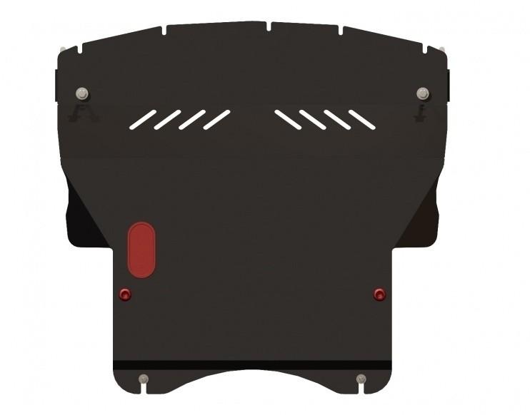 Защита картера и КПП сталь 2 мм Шериф 14.1228 Mitsubishi Colt правый руль 2002–2012