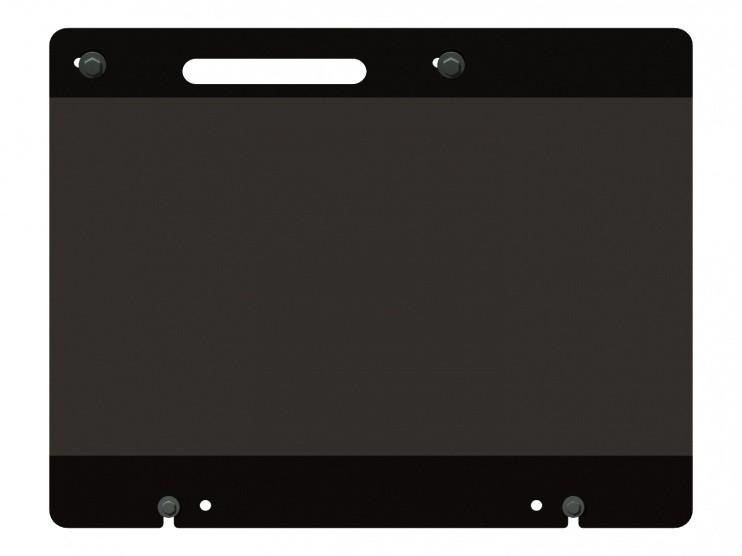 Защита радиатора сталь 2,5 мм Шериф 14.2189 Mitsubishi Fuso 2010–