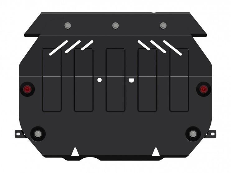 Защита картера и КПП сталь 2 мм Шериф 14.2306 V2 Mitsubishi Outlander 08.2012–