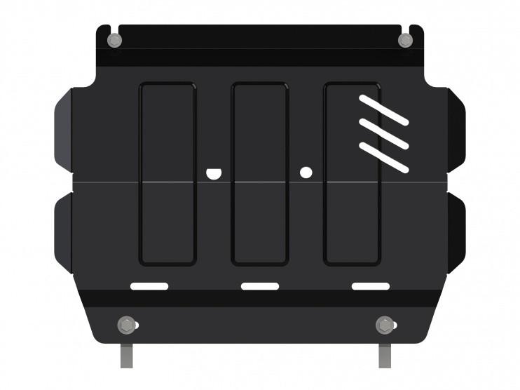 Защита картера сталь 3 мм Шериф 14.2469 Mitsubishi L200 2010–