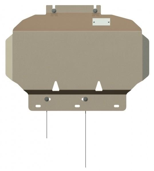 Защита картера алюминий 5 мм Шериф 15.0759 Nissan Pathfinder 2005–2010