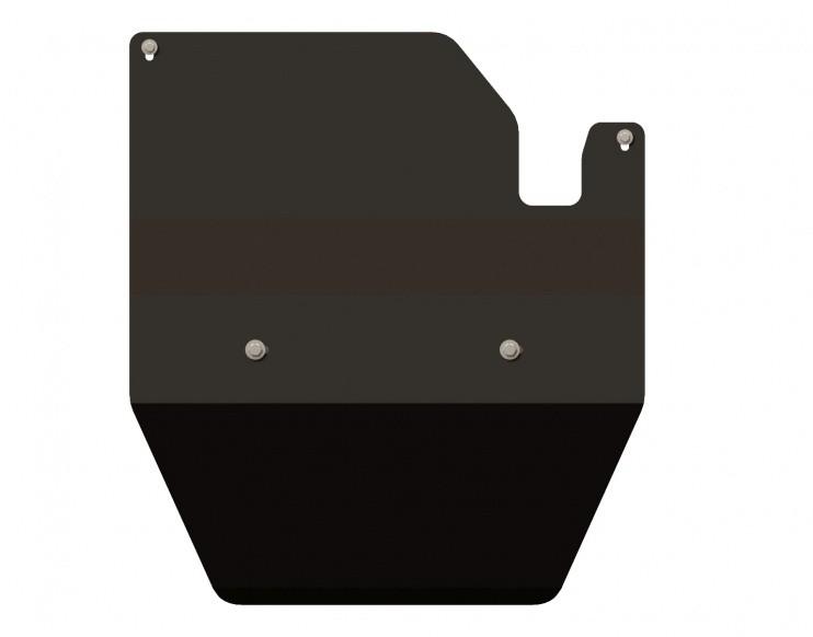 Защита КПП и РК сталь 2,5 мм Шериф 15.0774 Nissan Safari правый руль 3dv 1987–1997