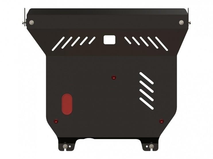 Защита картера и КПП сталь 2 мм Шериф 15.0909 Nissan Almera Classic 2006–2013