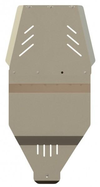 Защита КПП и РК алюминий 5 мм Шериф 15.0924 Nissan Navara – для 0759 –2005