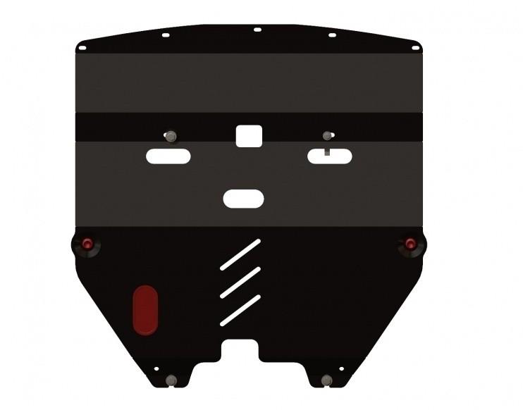 Защита картера и КПП сталь 2 мм Шериф 15.0976 Nissan Teana 2003–2008