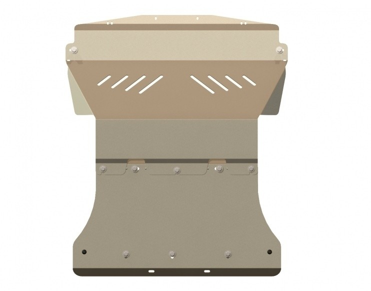 Защита картера алюминий 5 мм Шериф 15.1013 Infiniti FX35 2003–2008
