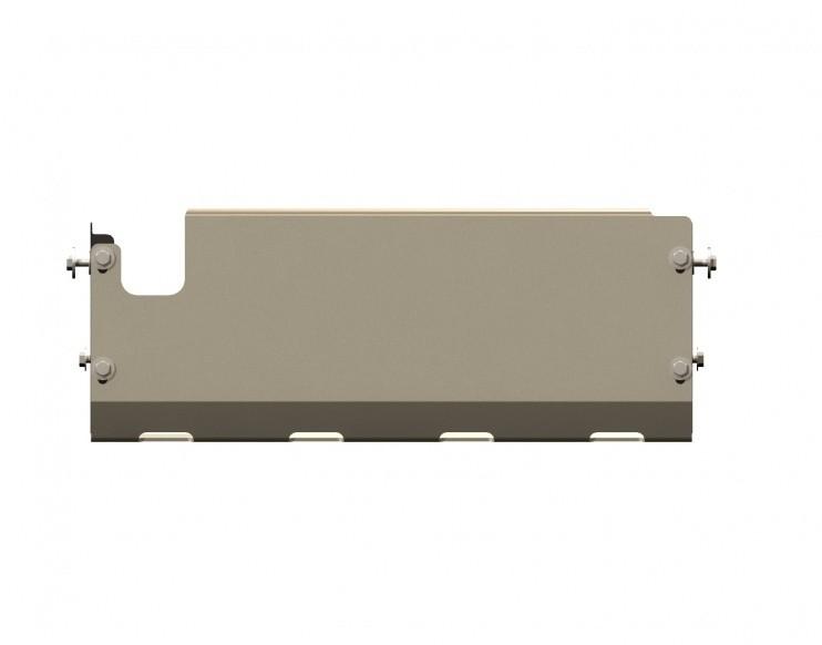 Защита рулевых тяг (с отверстием буксир. крюка) алюминий 5 мм Шериф 15.1127 Nissan Patrol 2000–2010