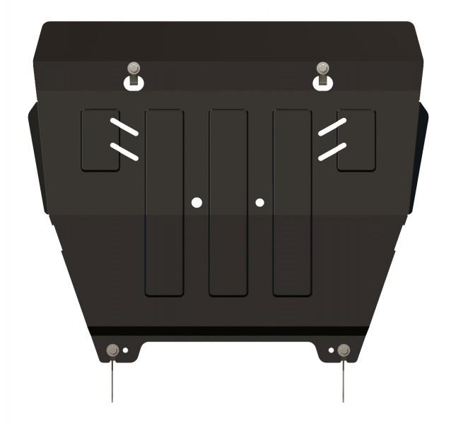 Защита картера и КПП сталь 2 мм Шериф 15.1218 Nissan X-Trail 2007–2014