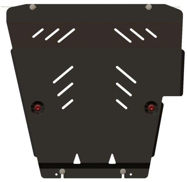 Защита картера и КПП сталь 2 мм Шериф 15.1255 Nissan Bluebird Sylphy 2005–2012