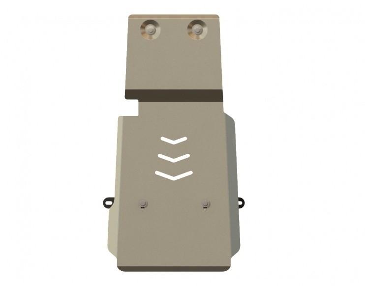 Защита АКПП алюминий 5 мм Шериф 15.1523 Infiniti QX70 (FX30/35/37) 2008–