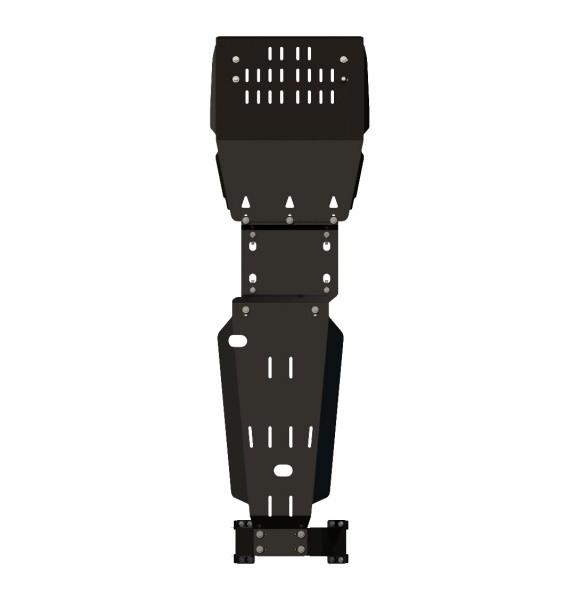 Защита картера и КПП сталь 2 мм Шериф 15.1550 Nissan Cabstar (3D Comfort) грузовик 2008–