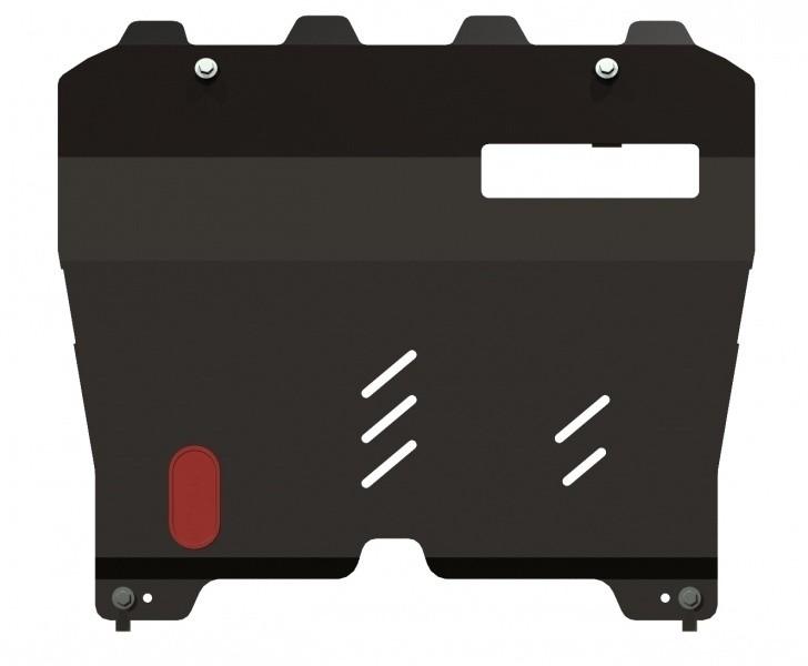 Защита картера и КПП сталь 2 мм Шериф 15.1593 Nissan Murano 2008–2010