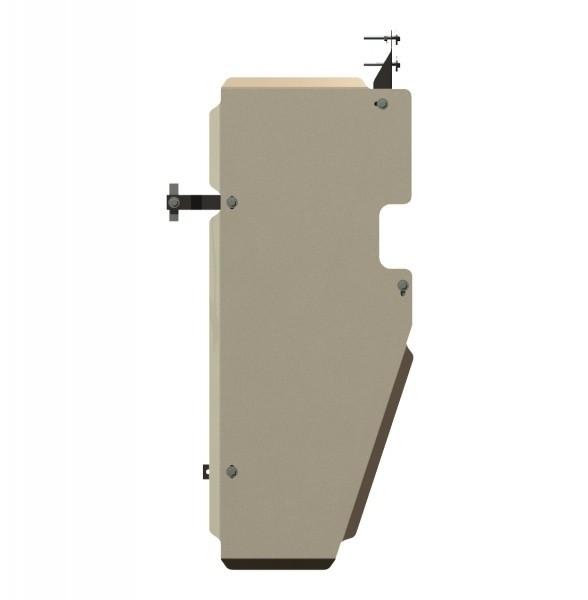 Защита топливного бака алюминий 5 мм Шериф 15.1643 Nissan Navara –2005