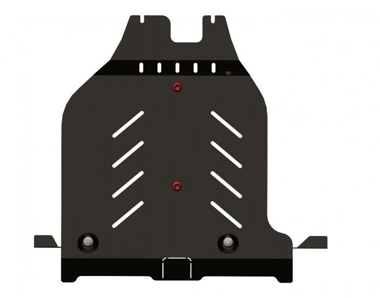 Защита бампера заднего сталь 2,5 мм Шериф 15.1670 Nissan X-Trail 2007–2014