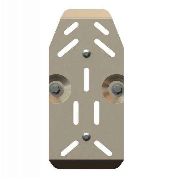 Защита редуктора алюминий 5 мм Шериф 15.1671 Nissan X-Trail 2007–2014