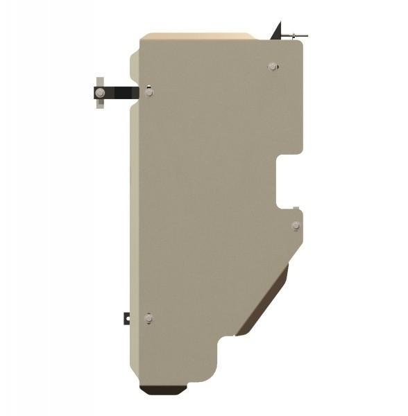 Защита топливного бака алюминий 5 мм Шериф 15.1714 Nissan Pathfinder 2005–2010