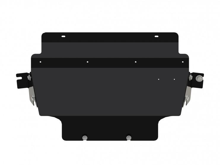 Защита радиатора сталь 2,5 мм Шериф 15.1936 V1 Nissan Pathfinder 2010–2014