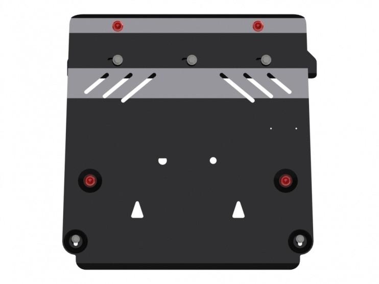 Защита картера и КПП сталь 2,5 мм Шериф 15.2040 V1 Nissan Juke 2010–