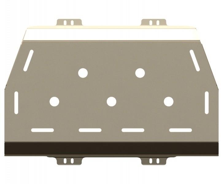 Защита топливного бака алюминий 5 мм Шериф 15.2280 Nissan Patrol/5дв 2000–2010