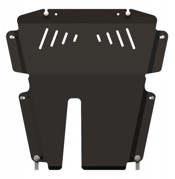 Защита картера и КПП сталь 2 мм Шериф 15.2343 Nissan Almera (сборка АвтоВАЗ) 2013–