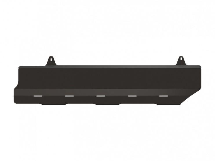 Защита топливных трубок сталь 2 мм Шериф 15.2361 Nissan Terrano 2014–
