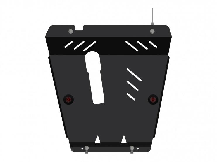 Защита картера и КПП сталь 2 мм Шериф 15.2480 Nissan Note 2005–2013