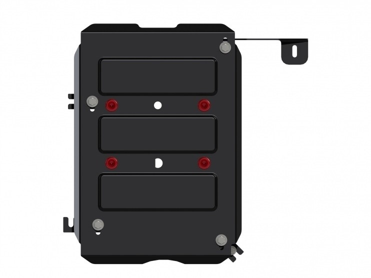 Защита топливного бака сталь 2 мм Шериф 15.2503 Nissan Terrano 2014–