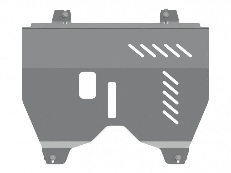 Защита картера и КПП алюминий 5 мм Шериф 15.2625 Nissan Pathfinder 2014–