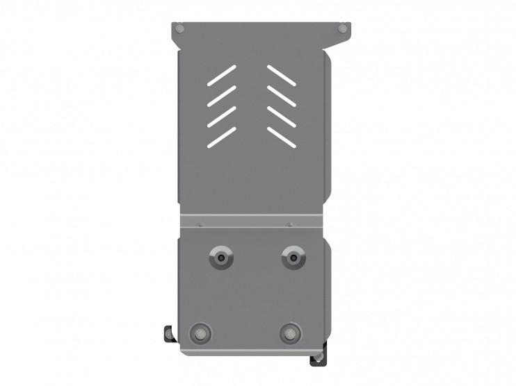 Защита АКПП алюминий 5 мм Шериф 15.2754 Infiniti Q50 2014–