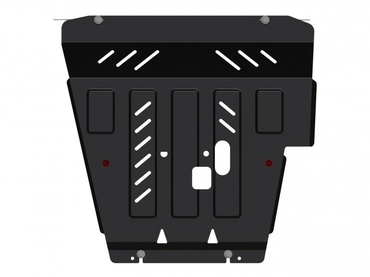 Защита картера и КПП сталь 2 мм Шериф 15.2802 Nissan Sentra 2014–