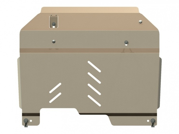 Защита картера и КПП алюминий 5 мм Шериф 16.1074 Opel Antara 2006–2010