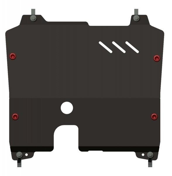 Защита картера и КПП сталь 2 мм Шериф 16.2013 Opel Astra 2009–